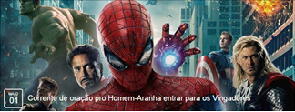 Corrente de oração pro Homem-Aranha entrar para os Vingadores