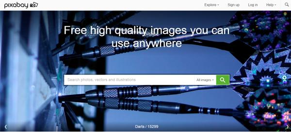 5 sites de imagens grátis pixabay