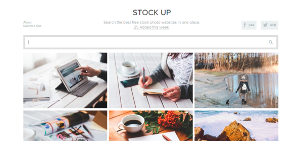 5 sites de imagens grátis stock up