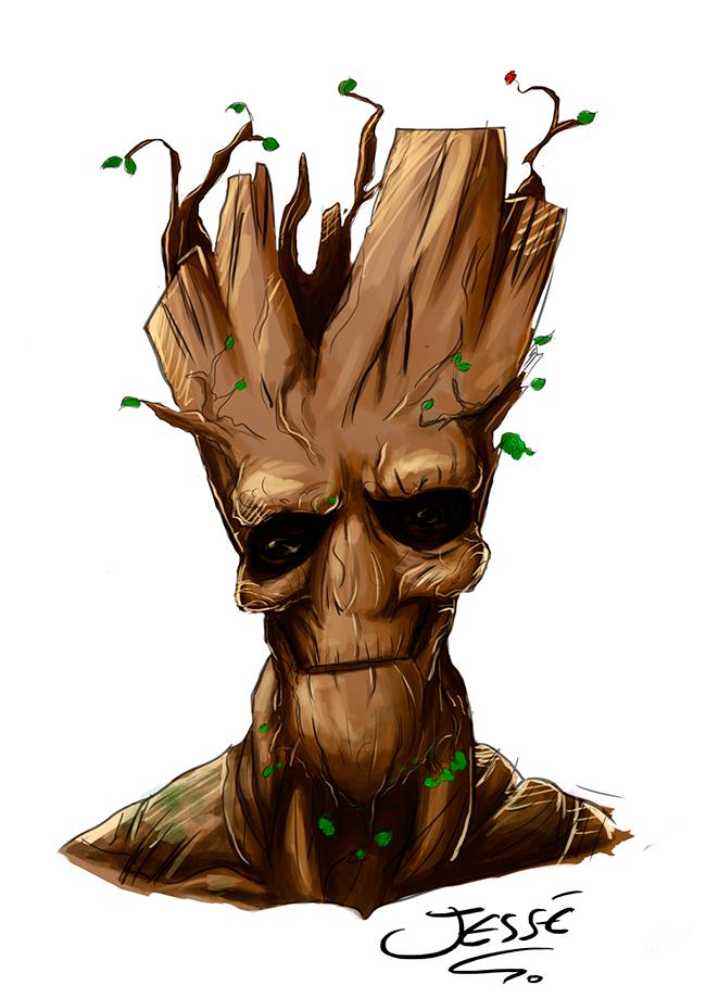 I am Groot, de Jessé Luiz