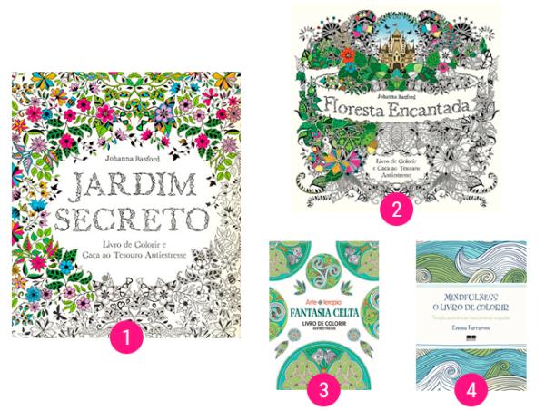 livros de colorir midia drops
