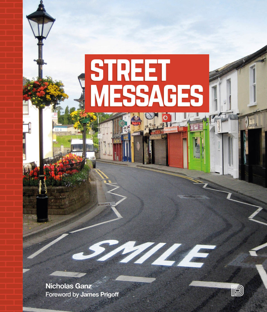 """Capa do livro """"The Street Messages"""""""